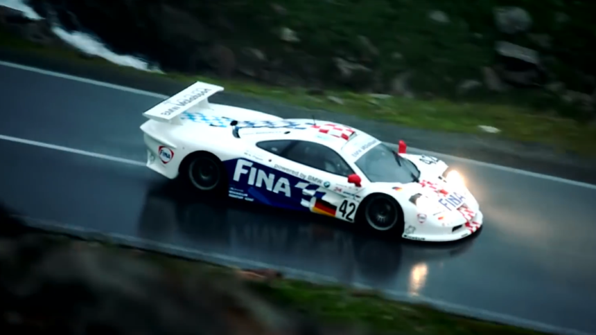 Listen to This Glorious Wet Touge Run in a McLaren F1 Longtail