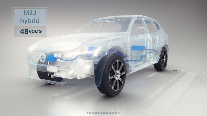 Volvo hybrid drive
