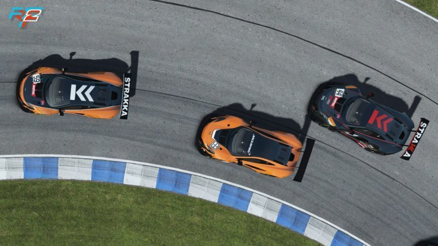 here's your first look at rfactor 2's mclaren 650s gt3