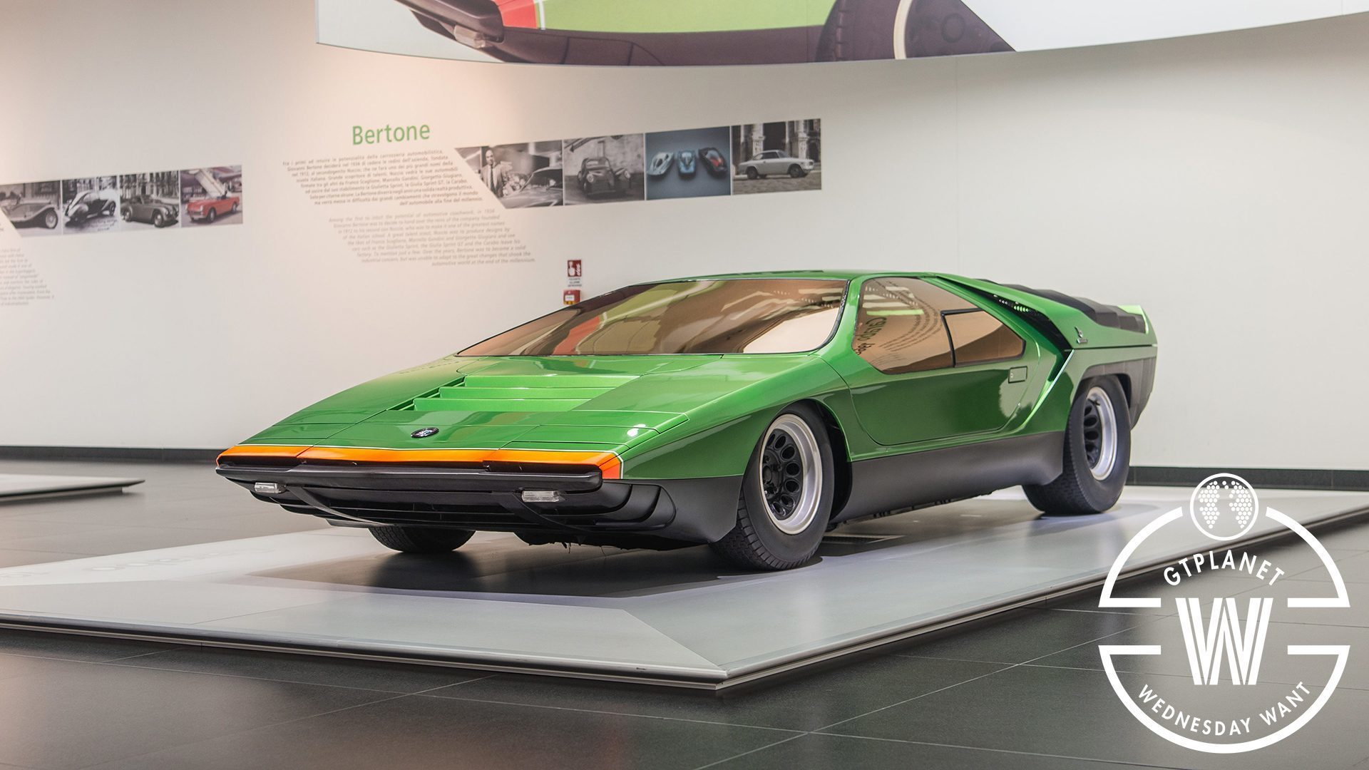 Alfa Romeo Carabo The Wedge That Inspired The Future