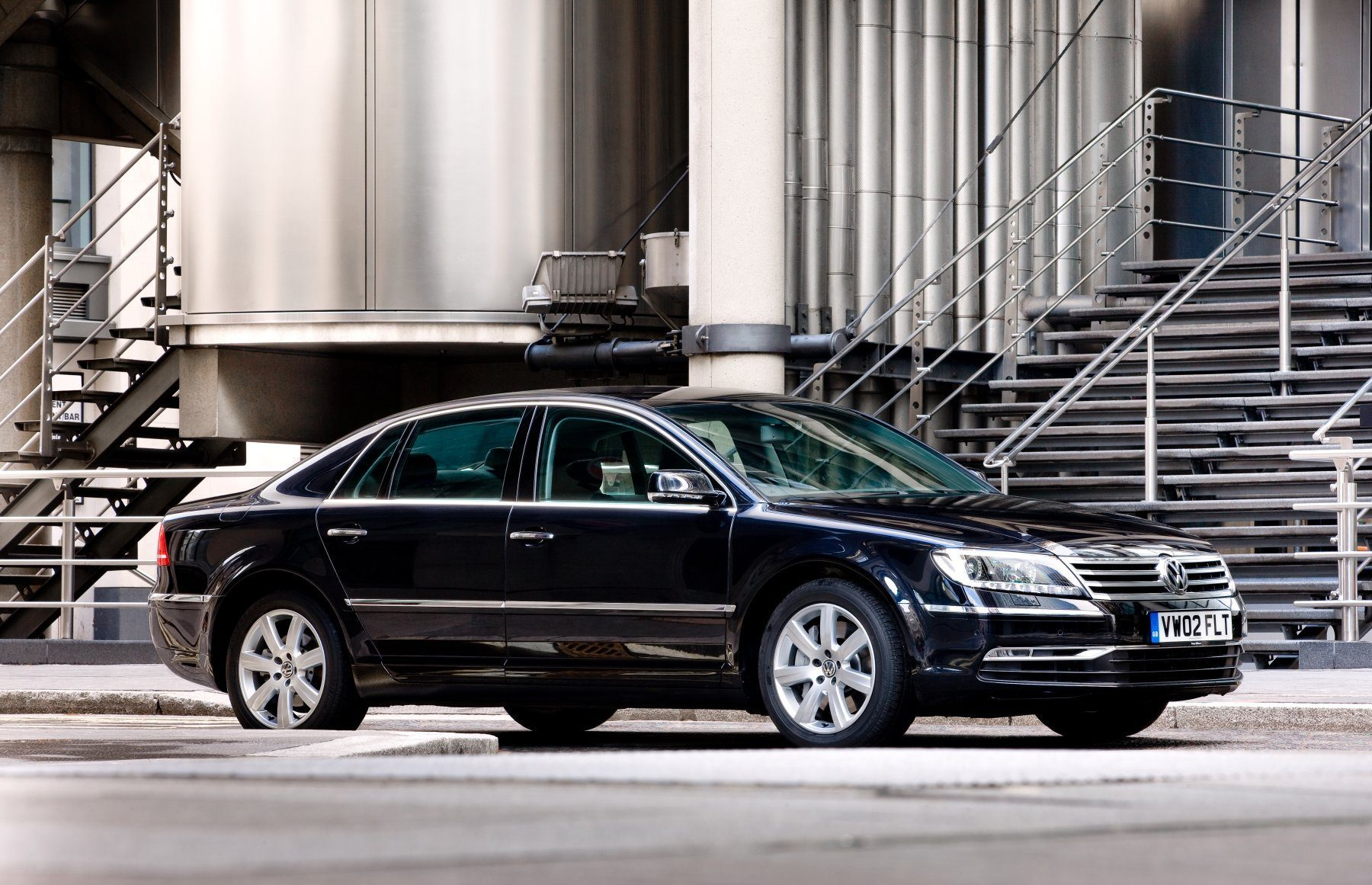 The People S Luxury Car Volkswagen Phaeton