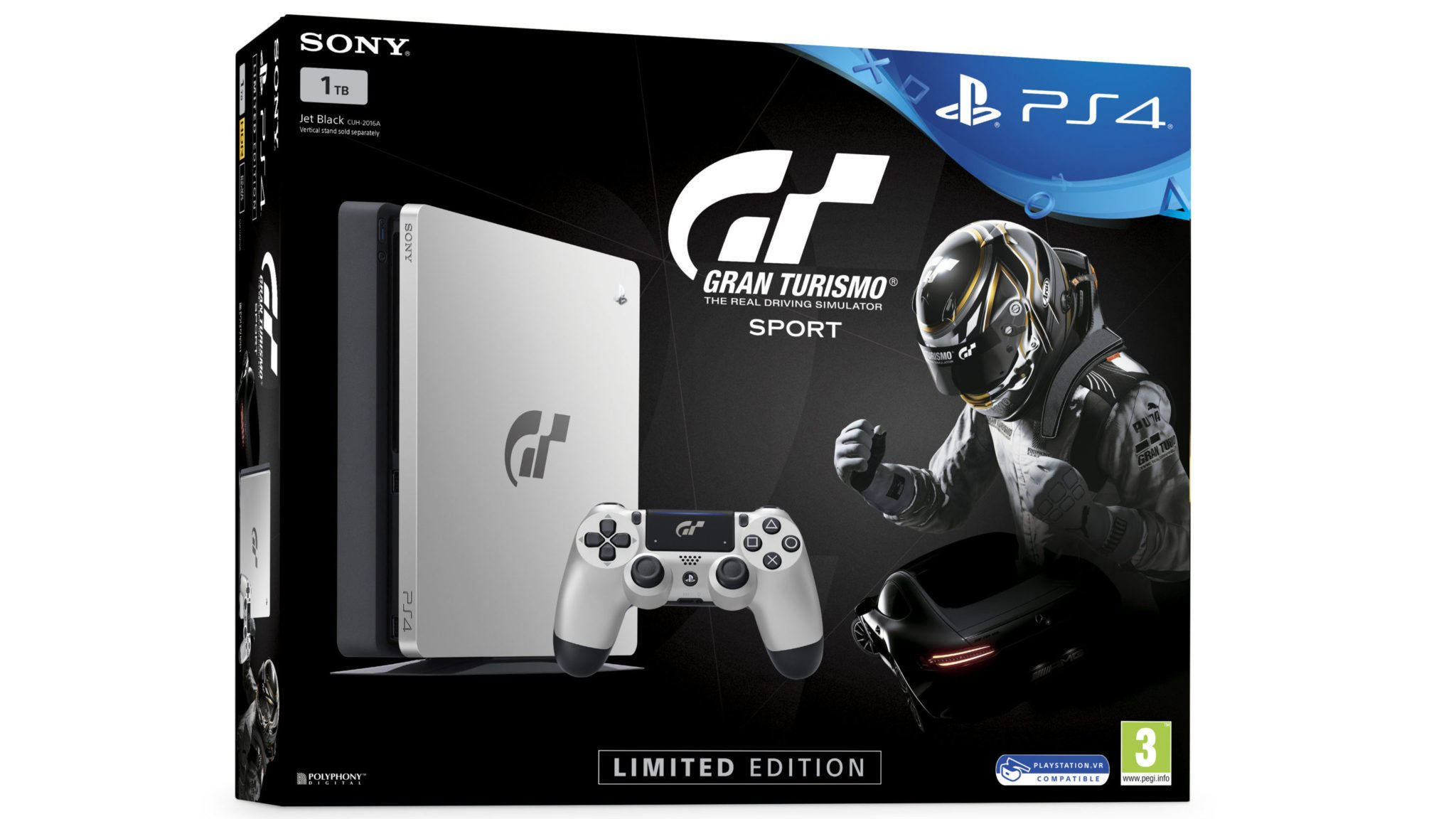 sony reveals limited edition gran turismo sport ps4. Black Bedroom Furniture Sets. Home Design Ideas
