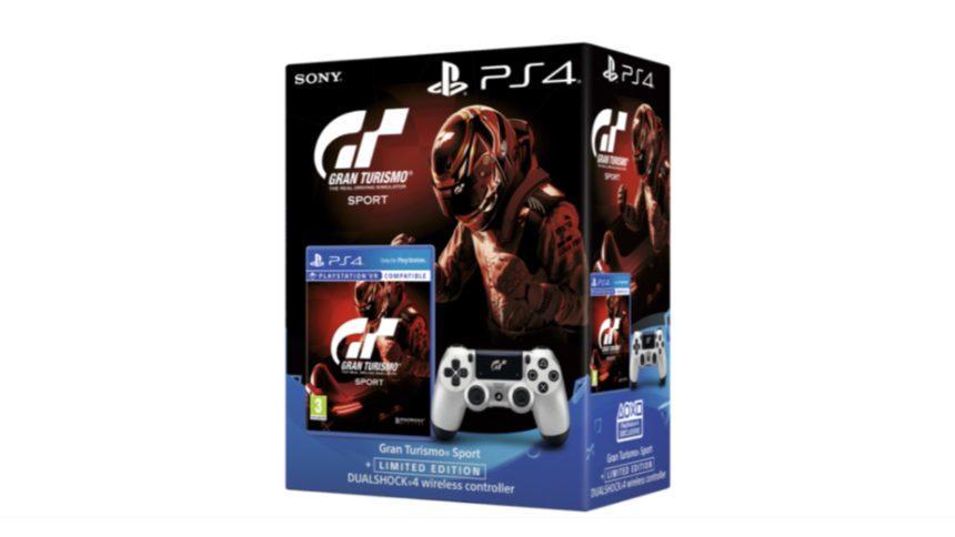 9c3fbebc5af GT Sport Gets Limited Edition DualShock 4 Bundle