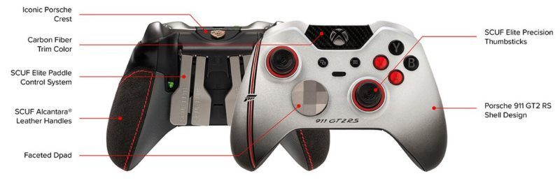 Porsche 911 GT2 RS-Inspired Scuf Forza Elite Controller is $299
