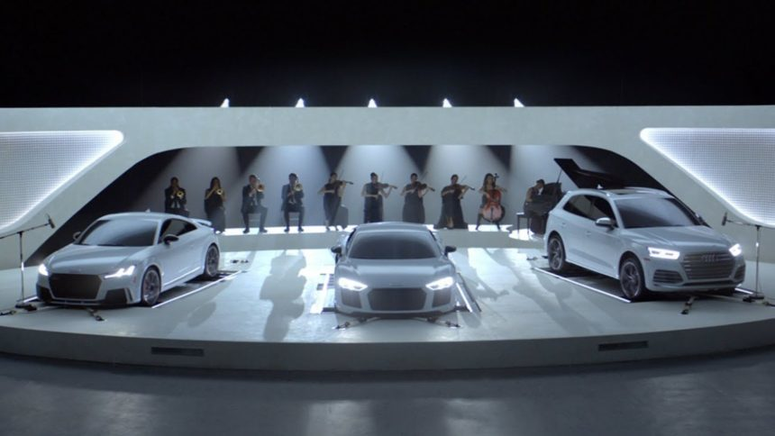 Audi Makes Sweet Music As Its Cars Sing Famous Theme Songs - What company makes audi cars