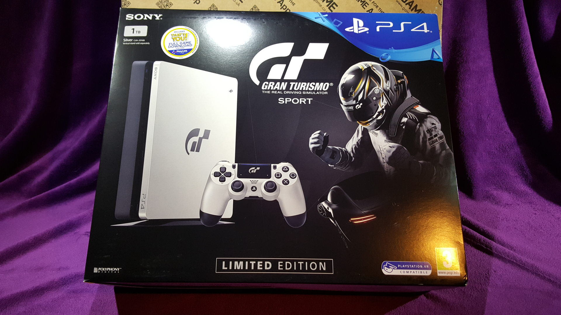 unboxing gt sport 39 s limited edition ps4 and collector 39 s. Black Bedroom Furniture Sets. Home Design Ideas