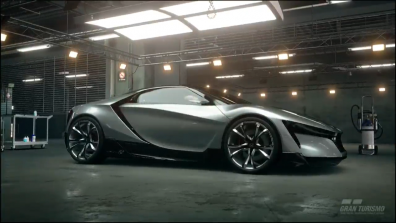 new vision gran turismo cars unveiled via gt sport demo. Black Bedroom Furniture Sets. Home Design Ideas