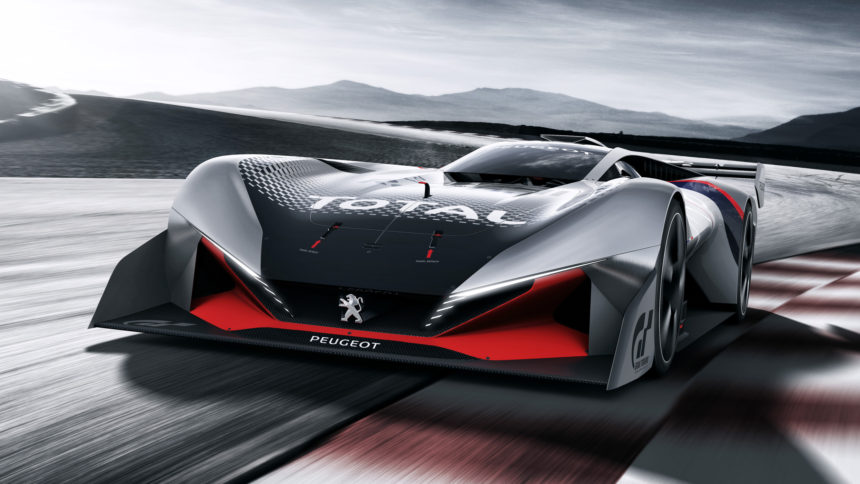 Peugeot Debuts Its Newest Vision GT Car, the L750 R HYbrid