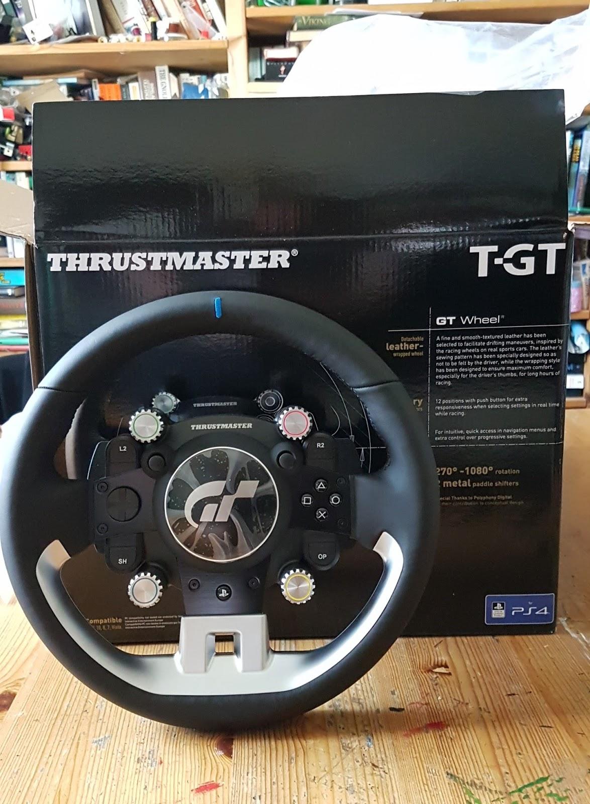 thrustmaster t gt. Black Bedroom Furniture Sets. Home Design Ideas