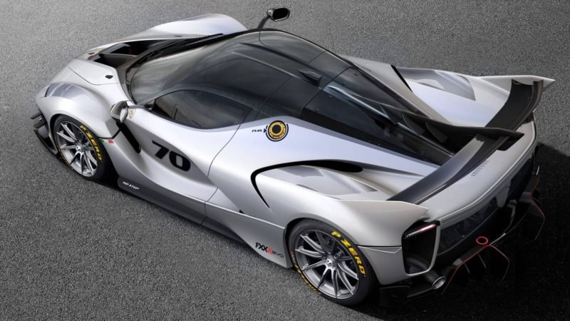 Ferrari Shows off Its Downforce Monster With the FXX,K Evo