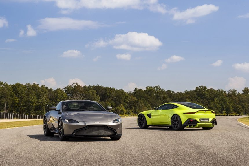 All New 2019 Aston Martin Vantage Makes Its Colorful Debut