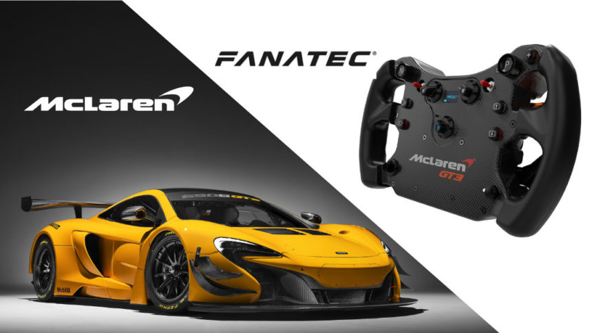 Fanatec Opens Limited Pre Orders For New Csl Elite Mclaren