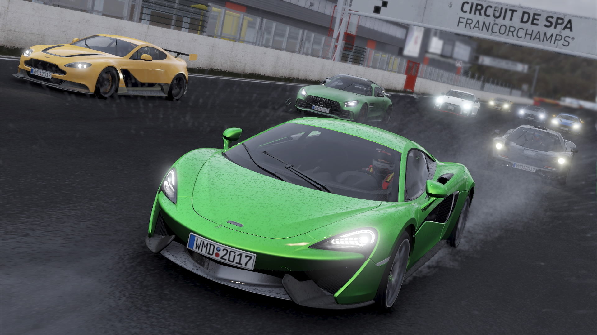 Mclaren 570s And Civic Grc Star In This Week S Project Cars 2