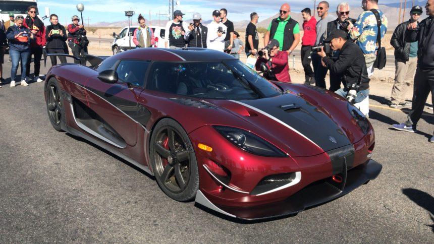 Koenigsegg Smashes The Production Car Sd Record With 277mph Run