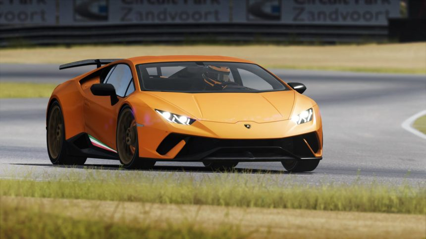 new assetto corsa trailer shows off lamborghini huracan performante. Black Bedroom Furniture Sets. Home Design Ideas