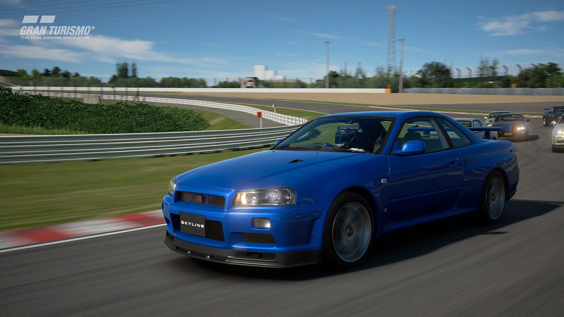 GT Sport R34 Skyline 01 ForzaMotorsport.fr