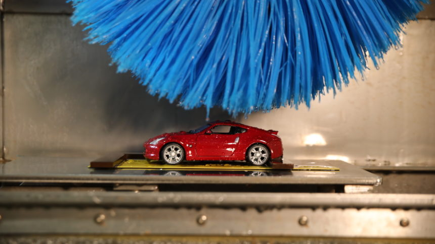 Meet the World\'s Smallest Car Wash, by Nissan