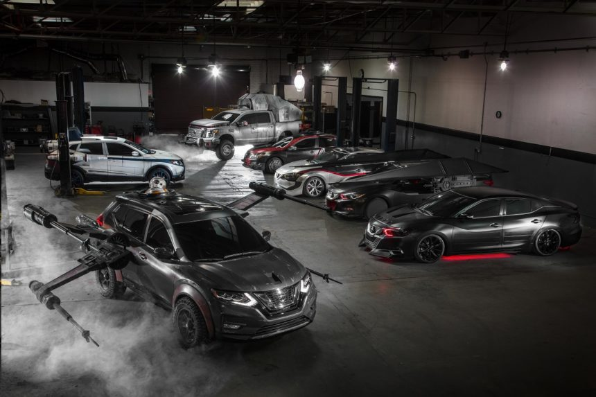 Nissan Awakens The Force With Its Star Wars Car Collection