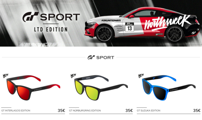 c3b7802ddf Northweek Reveals Limited-Edition Gran Turismo Sunglass Collection