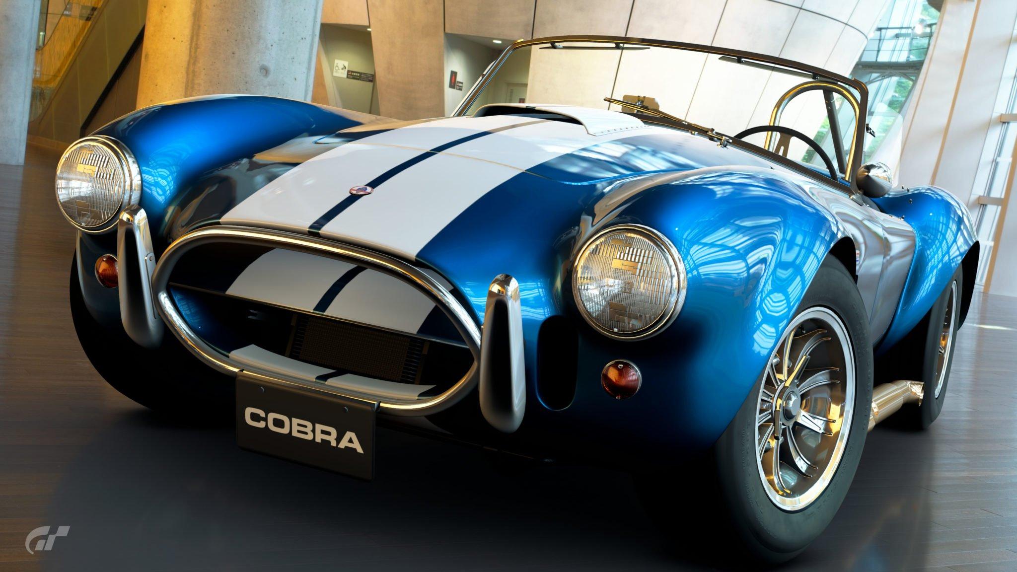 Gt Sport Vs Gt6 Shelby Cobra 427 Comparison