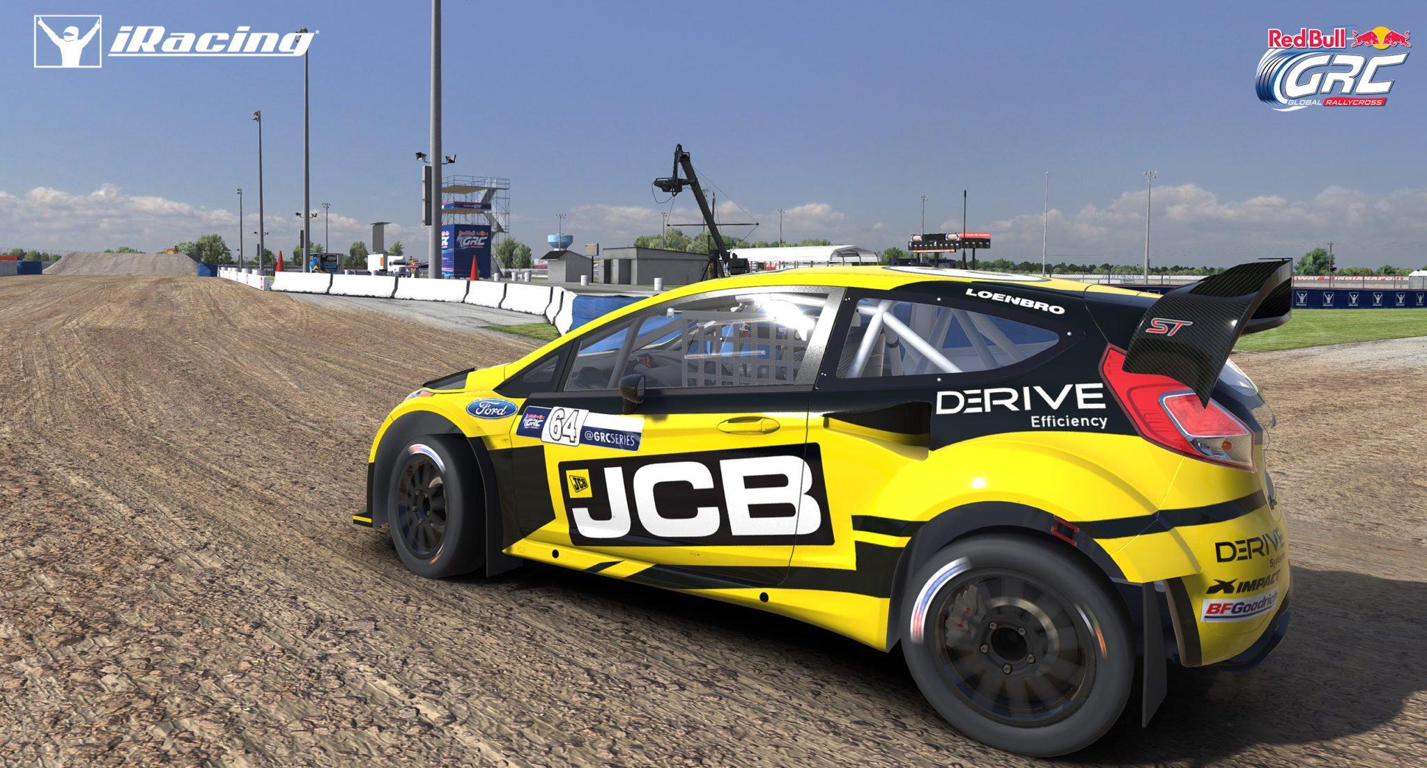 iRacing 2018 Season 1 Update Brings Rallycross, Animated Pit