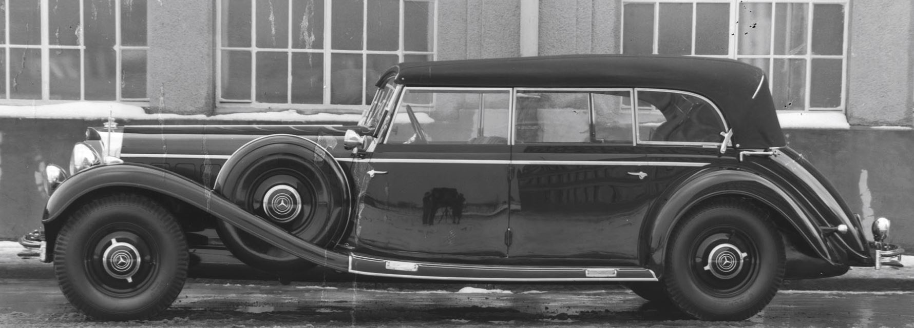 One Evil Owner: Own Hitler's Personal Mercedes-Benz 770K