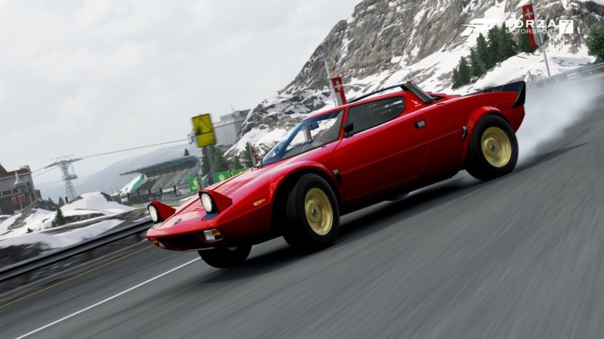 latest forza 7 forzathon events offer up 1932 ford and lancia stratos prizes. Black Bedroom Furniture Sets. Home Design Ideas