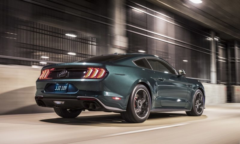 Ford Unleashes New Bullitt Mustang for the Film's 50th Anniversary