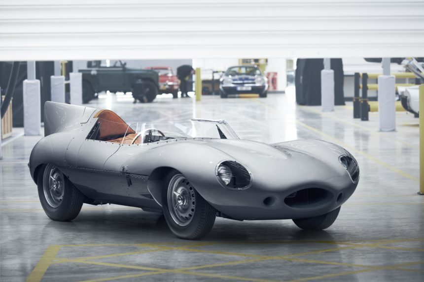 Jaguar to Build More New Old Cars With the D-Type Continuation