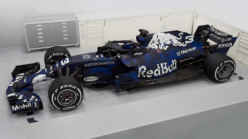 Red Bull Racing Launches The Rb14 For 2018 F1 Season