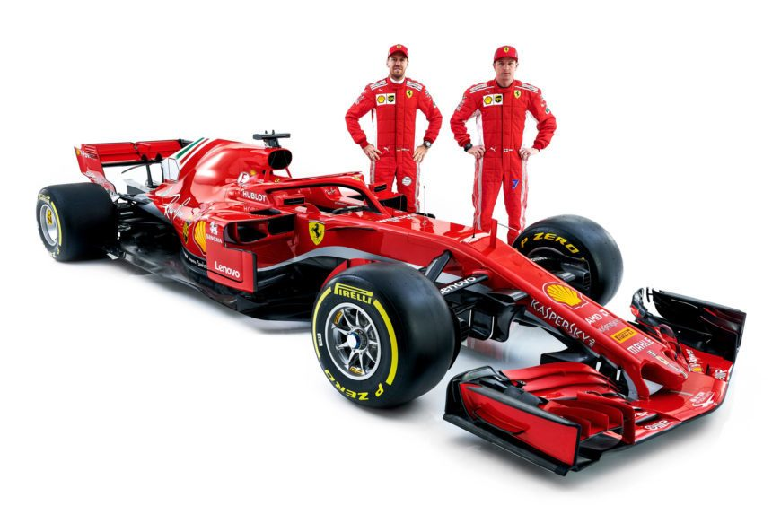 ferrari reveals maranello 39 s 2018 f1 competitor the sf71h. Black Bedroom Furniture Sets. Home Design Ideas