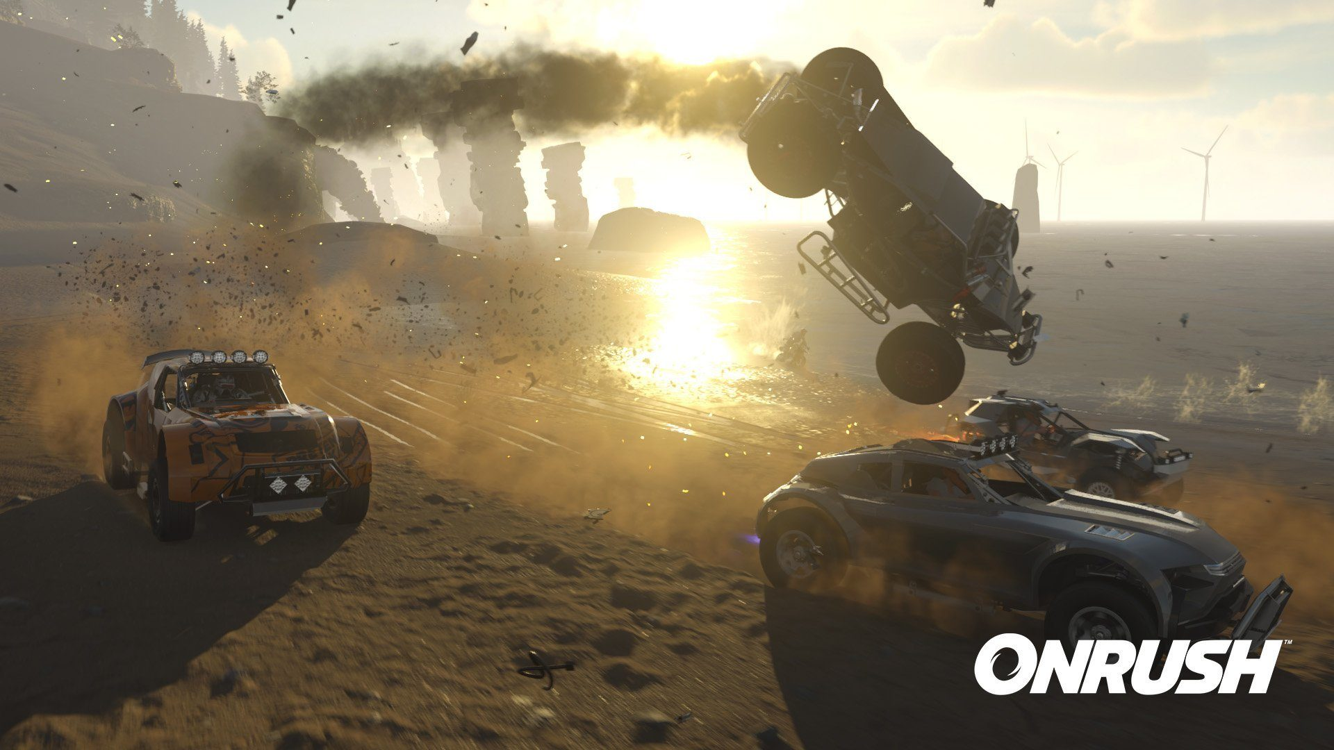 onrush gets a new trailer open beta coming in may update
