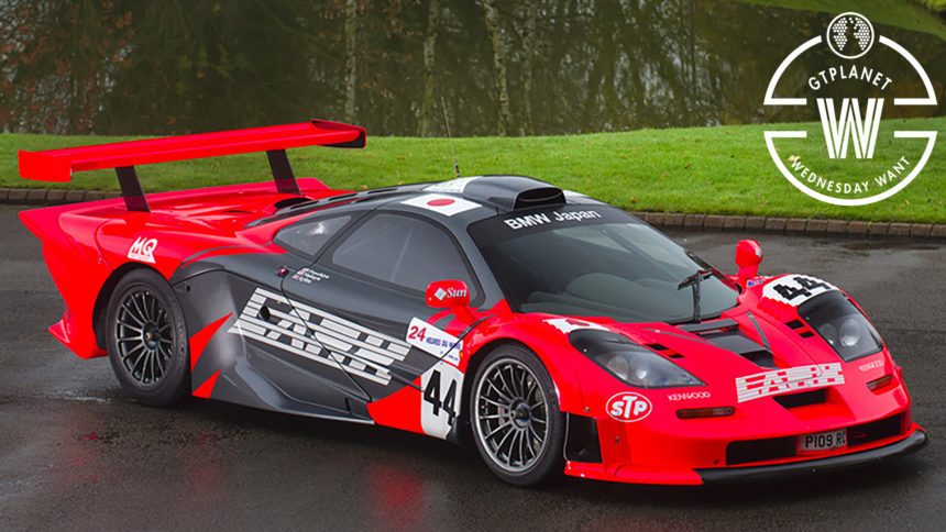 this road legal mclaren f1 gtr longtail could be your ultimate daily