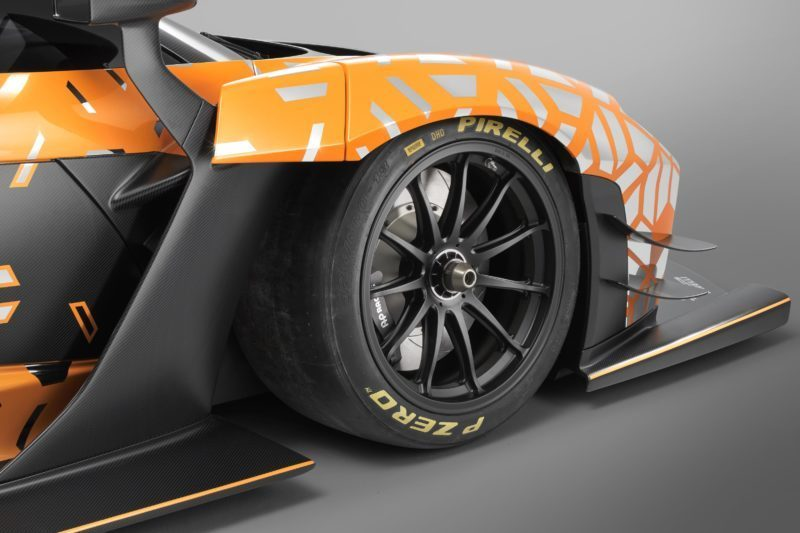 Even More Power and Downforce for the Track-Only McLaren
