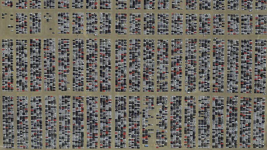 Volkswagen Stores Nearly 300,000 Dieselgate Vehicles in a California Boneyard