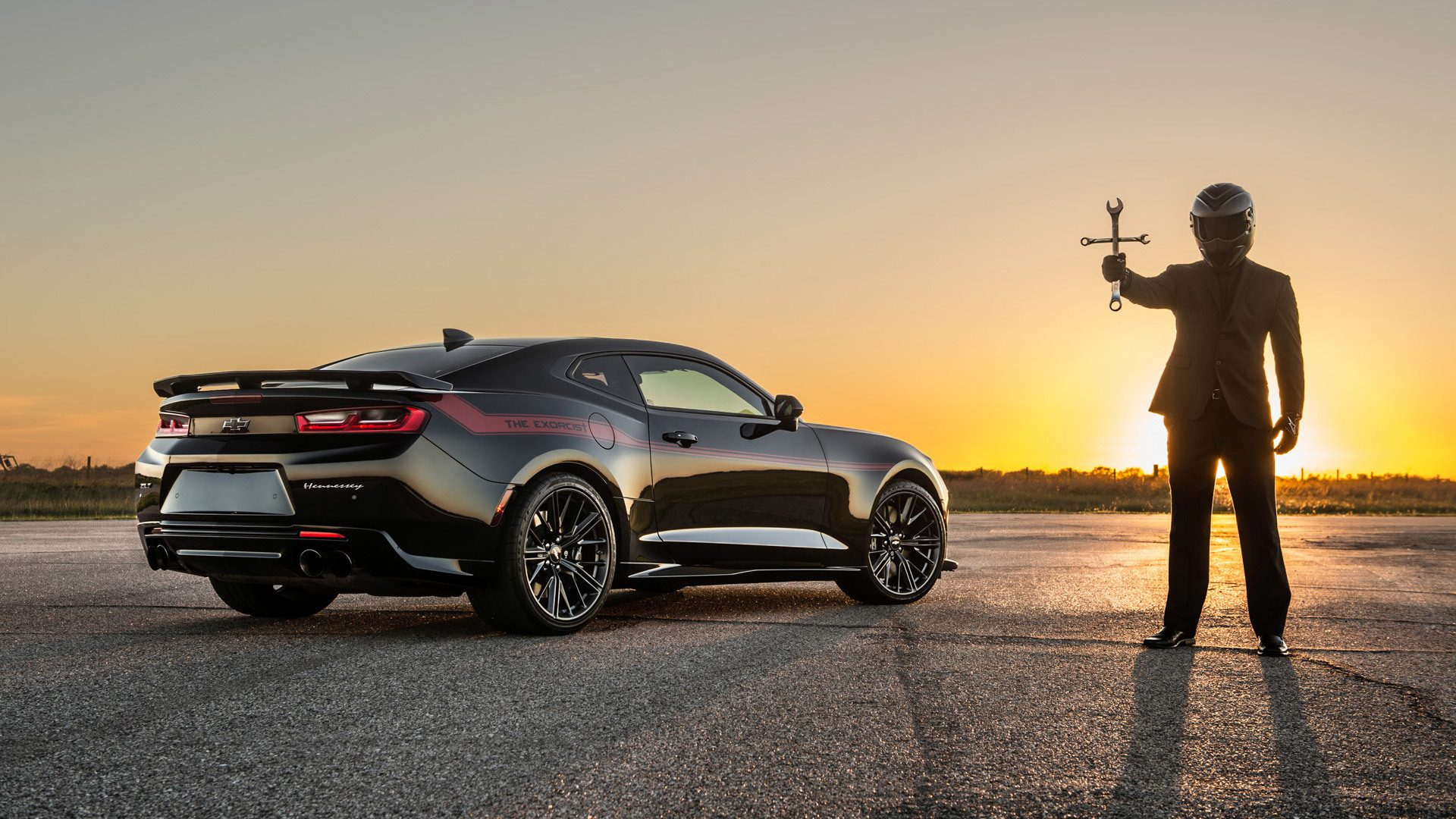 The Hennessey Exorcist Camaro Is the Fastest Muscle Car Around, but ...