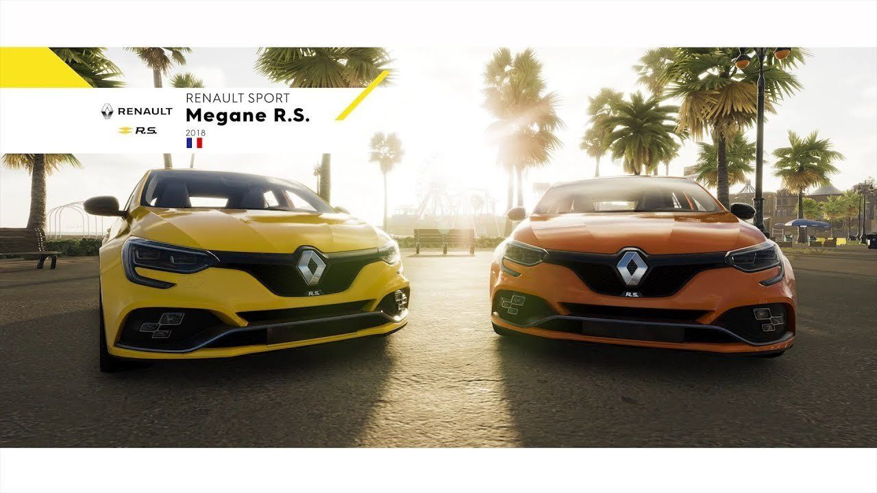 the 2018 renault megane rs makes its video game debut in the crew 2. Black Bedroom Furniture Sets. Home Design Ideas