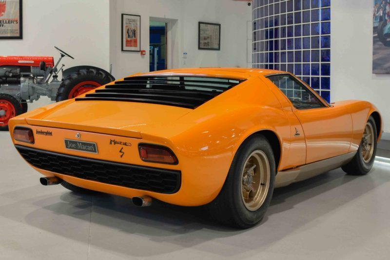 On Days Like These You Need This 1969 Lamborghini Miura P400s