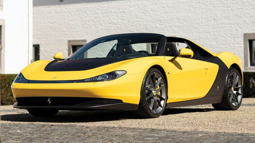 This Rare Ferrari Is A Tribute To The Famous Designer Sergio Pininfarina