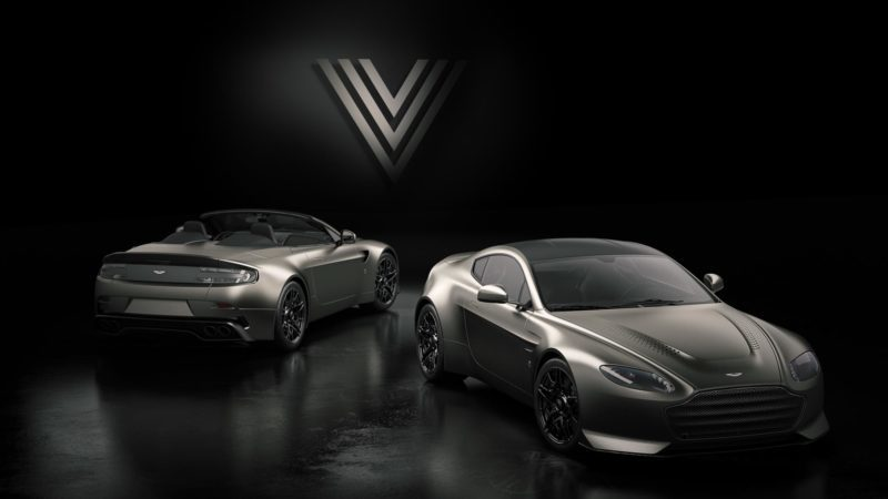 Aston Martin Sends Off The Old Vantage With A V600 Limited Edition