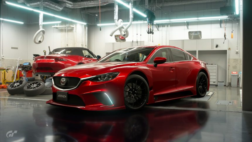 gt sport mileage exchange update brings back the mazda atenza gr.3