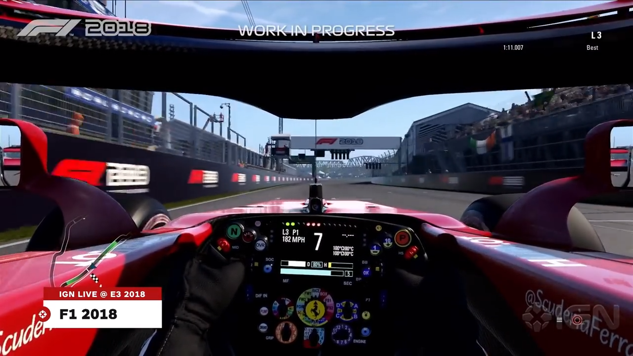 You Can Drive (Partially) Halo-Free in F1 2018
