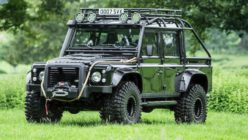 Be a Sinister Bond Baddie With This Land Rover Defender SVX
