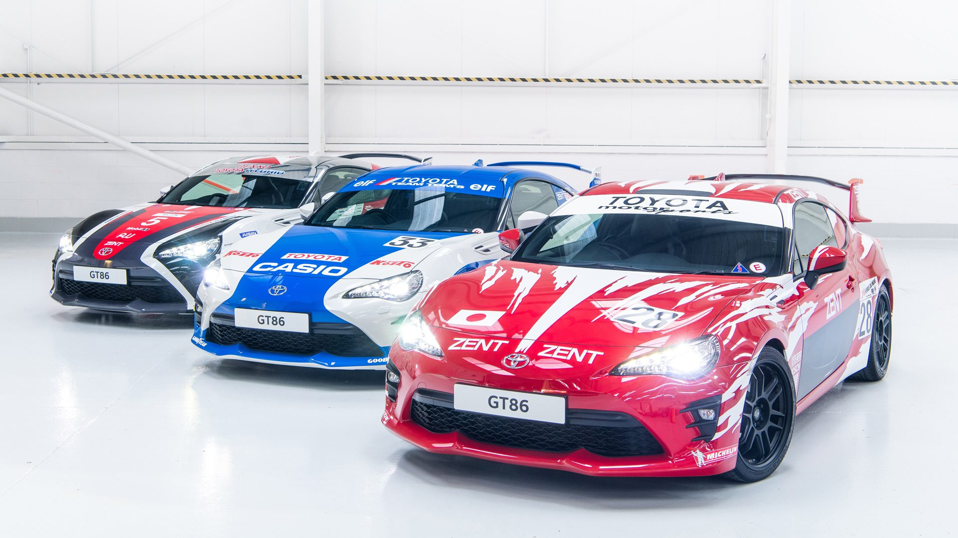 toyota marks 86th le mans race with classic liveries for its own 86. Black Bedroom Furniture Sets. Home Design Ideas