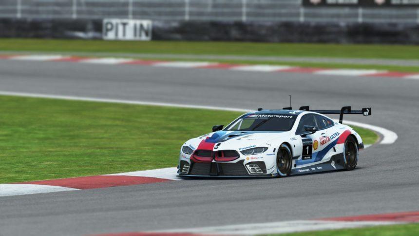 Bmw M8 Le Mans >> BMW M8 GTE Race Car to Make Gaming Debut in rFactor 2