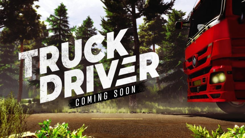 truck driver is the first trucking simulator for ps4. Black Bedroom Furniture Sets. Home Design Ideas