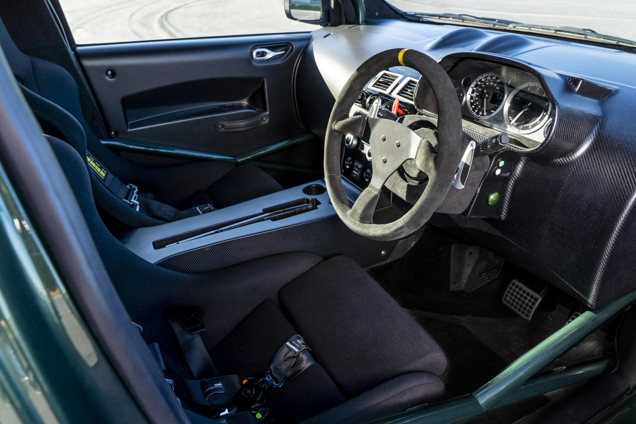 Aston Martin Reveals Insane One Off V8 Cygnet