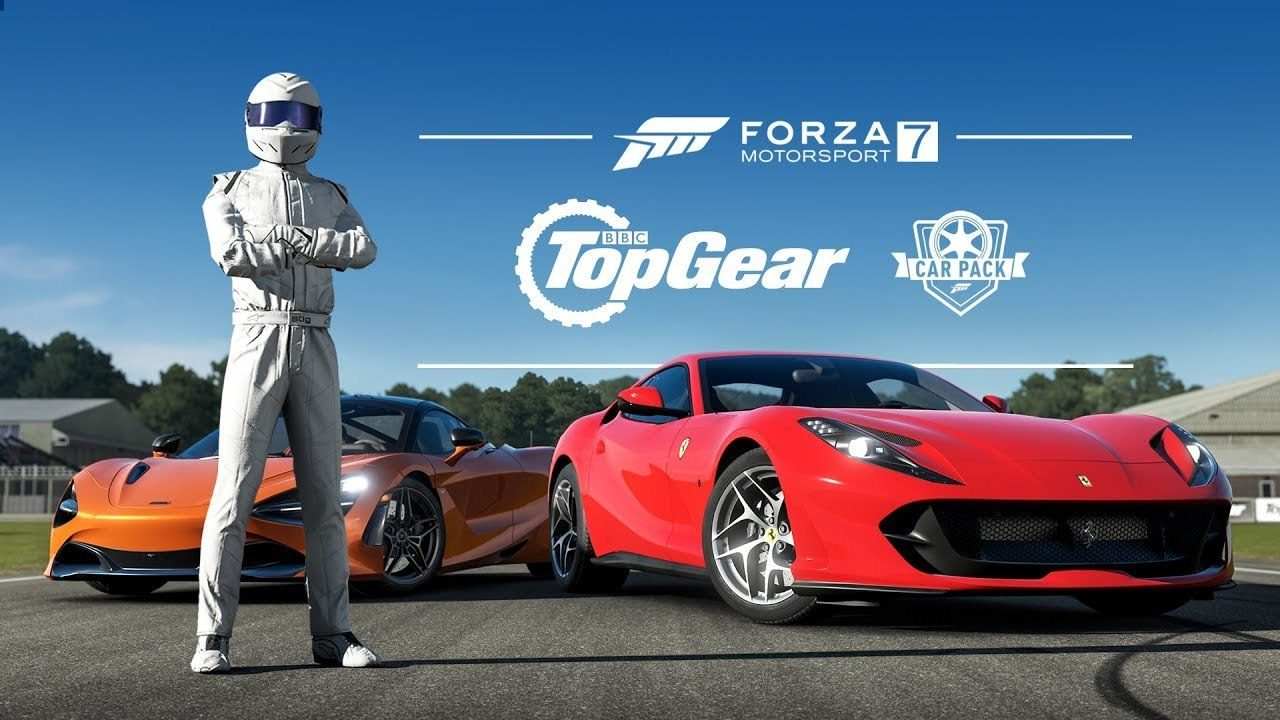 forza 7 39 s top gear car pack adds mclaren 720s ferrari 812 and two new manufacturers. Black Bedroom Furniture Sets. Home Design Ideas