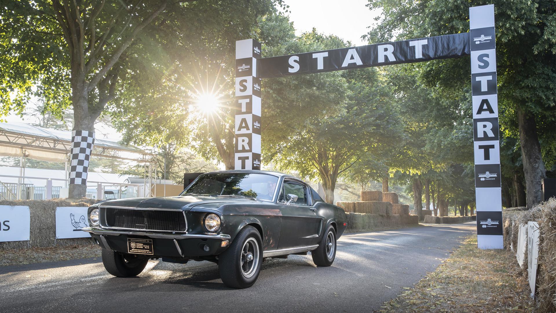 Ford Brings the Original Bullitt Mustang to Goodwood for a Battle