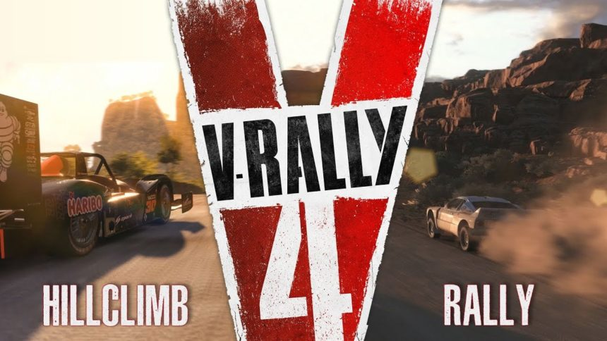 New VRally Trailer Shows Off Hill Climbs And Rally Stages - Car rally near me